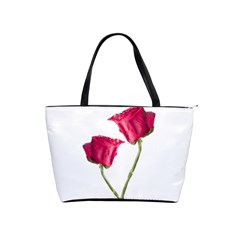Red Roses Photo Shoulder Handbags by dflcprints