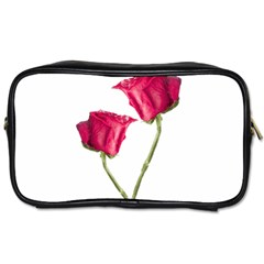 Red Roses Photo Toiletries Bags 2 Side by dflcprints