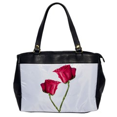 Red Roses Photo Office Handbags by dflcprints