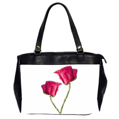 Red Roses Photo Office Handbags (2 Sides)  by dflcprints
