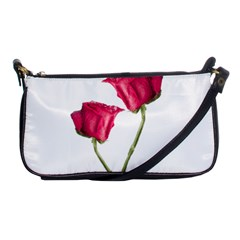 Red Roses Photo Shoulder Clutch Bags by dflcprints