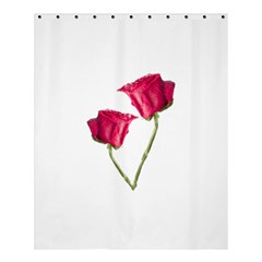 Red Roses Photo Shower Curtain 60  X 72  (medium)  by dflcprints
