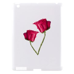 Red Roses Photo Apple Ipad 3/4 Hardshell Case (compatible With Smart Cover) by dflcprints