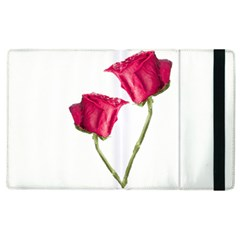 Red Roses Photo Apple Ipad 3/4 Flip Case by dflcprints