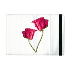 Red Roses Photo Apple Ipad Mini Flip Case by dflcprints