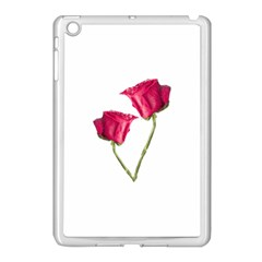 Red Roses Photo Apple Ipad Mini Case (white) by dflcprints