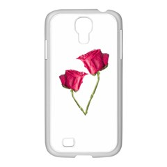 Red Roses Photo Samsung Galaxy S4 I9500/ I9505 Case (white) by dflcprints