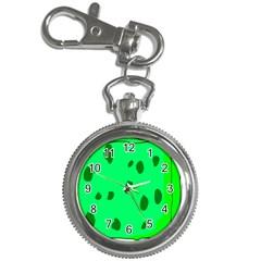 Alien Spon Green Key Chain Watches by Alisyart