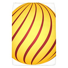Yellow Striped Easter Egg Gold Flap Covers (s)  by Alisyart