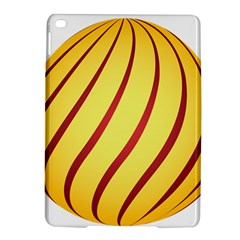 Yellow Striped Easter Egg Gold Ipad Air 2 Hardshell Cases by Alisyart