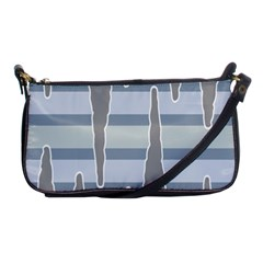 Cavegender Pride Flag Stone Grey Line Shoulder Clutch Bags by Alisyart