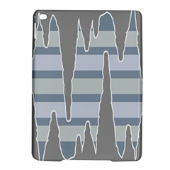 Cavegender Pride Flag Stone Grey Line Ipad Air 2 Hardshell Cases by Alisyart