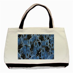 Floral Pattern Background Seamless Basic Tote Bag (two Sides) by Simbadda