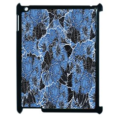 Floral Pattern Background Seamless Apple Ipad 2 Case (black) by Simbadda