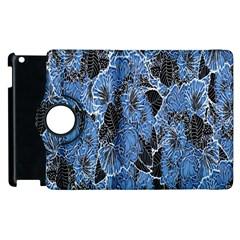 Floral Pattern Background Seamless Apple Ipad 2 Flip 360 Case by Simbadda