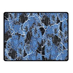 Floral Pattern Background Seamless Double Sided Fleece Blanket (small)  by Simbadda
