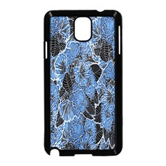 Floral Pattern Background Seamless Samsung Galaxy Note 3 Neo Hardshell Case (black) by Simbadda