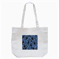 Floral Pattern Background Seamless Tote Bag (white) by Simbadda