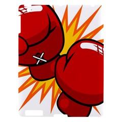 Boxing Gloves Red Orange Sport Apple Ipad 3/4 Hardshell Case by Alisyart