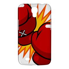 Boxing Gloves Red Orange Sport Samsung Galaxy Mega 6 3  I9200 Hardshell Case by Alisyart
