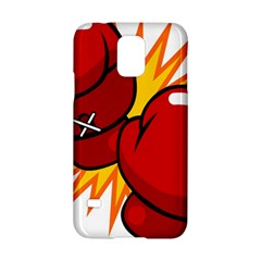 Boxing Gloves Red Orange Sport Samsung Galaxy S5 Hardshell Case  by Alisyart