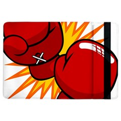 Boxing Gloves Red Orange Sport Ipad Air 2 Flip by Alisyart