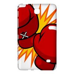 Boxing Gloves Red Orange Sport Samsung Galaxy Tab 4 (8 ) Hardshell Case  by Alisyart