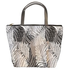 Floral Pattern Background Bucket Bags by Simbadda