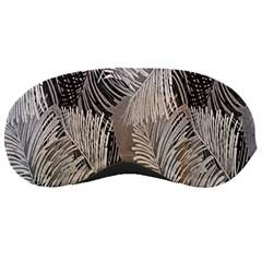 Floral Pattern Background Sleeping Masks by Simbadda