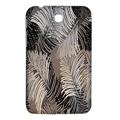 Floral Pattern Background Samsung Galaxy Tab 3 (7 ) P3200 Hardshell Case  by Simbadda