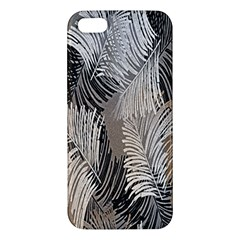 Floral Pattern Background iPhone 5S/ SE Premium Hardshell Case