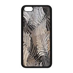 Floral Pattern Background Apple Iphone 5c Seamless Case (black) by Simbadda