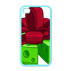 Cheese Green Apple Iphone 4 Case (color) by Alisyart