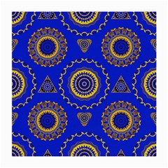 Abstract Mandala Seamless Pattern Medium Glasses Cloth by Simbadda
