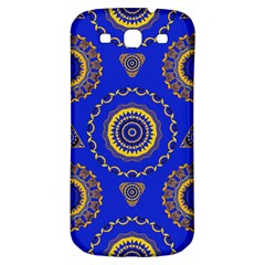 Abstract Mandala Seamless Pattern Samsung Galaxy S3 S Iii Classic Hardshell Back Case by Simbadda