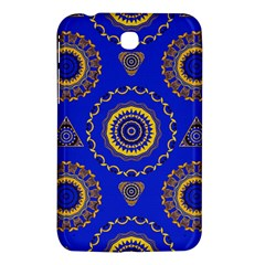 Abstract Mandala Seamless Pattern Samsung Galaxy Tab 3 (7 ) P3200 Hardshell Case  by Simbadda