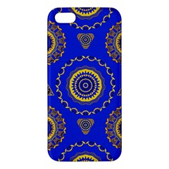 Abstract Mandala Seamless Pattern Iphone 5s/ Se Premium Hardshell Case by Simbadda