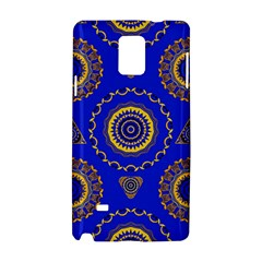 Abstract Mandala Seamless Pattern Samsung Galaxy Note 4 Hardshell Case by Simbadda