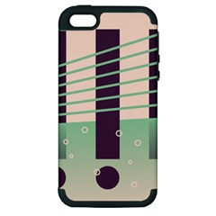 Day Sea River Bridge Line Water Apple Iphone 5 Hardshell Case (pc+silicone) by Alisyart