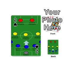 Field Football Positions Playing Cards 54 (mini)  by Alisyart