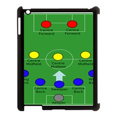 Field Football Positions Apple Ipad 3/4 Case (black) by Alisyart