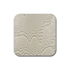 Coral X Ray Rendering Hinges Structure Kinematics Rubber Square Coaster (4 Pack)  by Alisyart