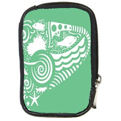 Fish Star Green Compact Camera Cases by Alisyart
