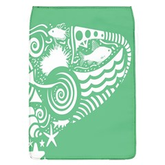 Fish Star Green Flap Covers (l)  by Alisyart