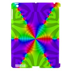 Complex Beauties Color Line Tie Purple Green Light Apple Ipad 3/4 Hardshell Case (compatible With Smart Cover) by Alisyart