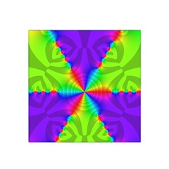 Complex Beauties Color Line Tie Purple Green Light Satin Bandana Scarf by Alisyart