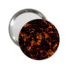 Fiery Ground 2 25  Handbag Mirrors by Alisyart