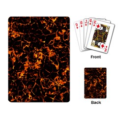 Fiery Ground Playing Card by Alisyart