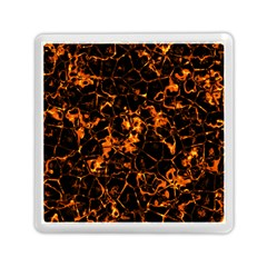 Fiery Ground Memory Card Reader (square)  by Alisyart