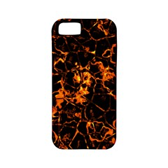 Fiery Ground Apple Iphone 5 Classic Hardshell Case (pc+silicone) by Alisyart